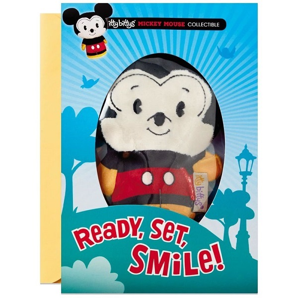 itty bittys(R) Mickey Mouse Birthday Card With Stuffed Animal【誕生お祝い/その他】