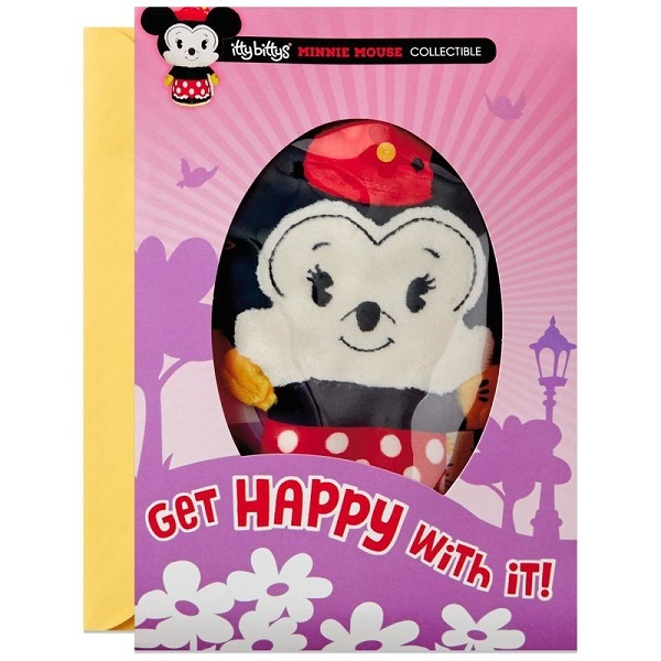 itty bittys(R) Minnie Mouse Birthday Card With Stuffed Animal【誕生お祝い/その他】