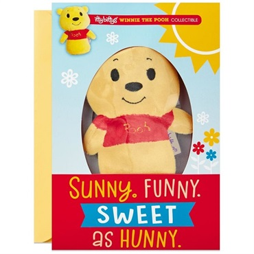 itty bittys(R) Winnie the Pooh Birthday Card With Stuffed Animal【誕生お祝い/その他】