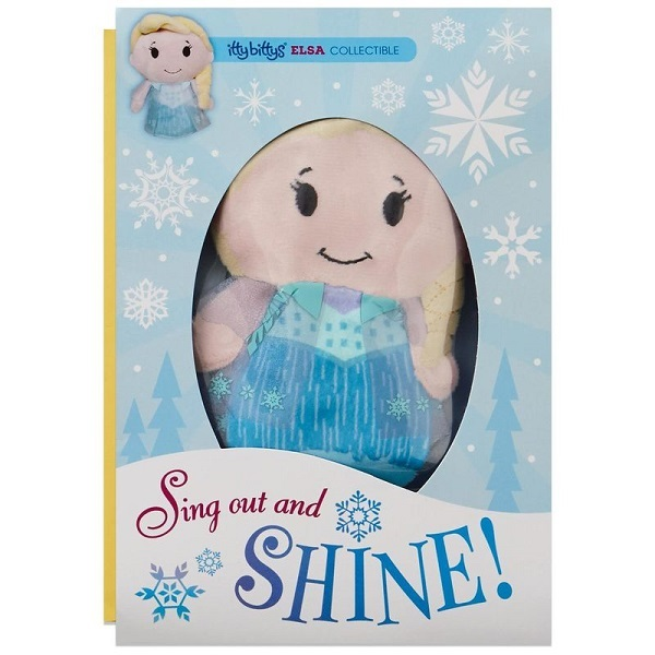 itty bittys(R) Disney Frozen Elsa Just Because Card With Stuffed Animal【誕生お祝い/その他】