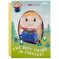 itty bittys(R) Disney Frozen Anna Birthday Card With Stuffed Animal【誕生お祝い/その他】