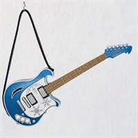 Free Bird Guitar Musical Ornament