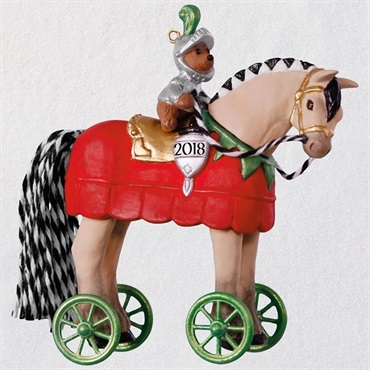 A Pony for Christmas Knight in Shining Armor Ornament