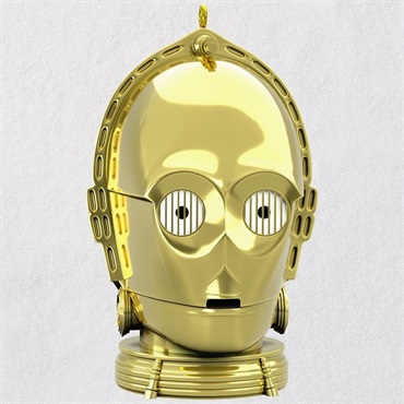 Star Wars C-3PO Ornament With Light and Sound