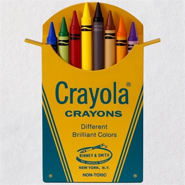 Crayola(R) Classic Box of 8 Crayons Ornament
