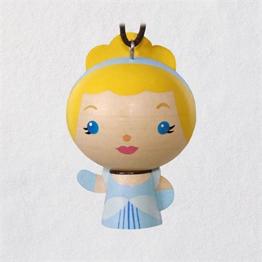 Cinderella Wood Ornament