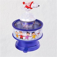 The Peanuts(R) Gang Snoopy Skates! Musical Ornament With Light and Motion