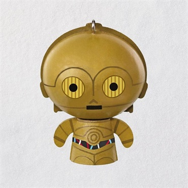Star Wars C-3PO Wood Ornament