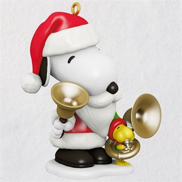 Spotlight on Snoopy Bell-Ringer Snoopy Ornament