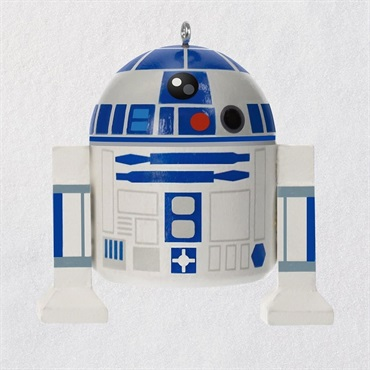 Star Wars R2-D2 Wood Ornament