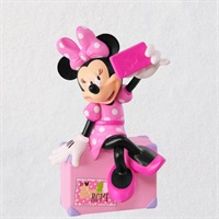 Disney Minnie Mouse Snappin' a Selfie Ornament