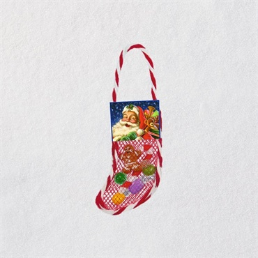 Mini Lil' Stuffed Stocking Ornament