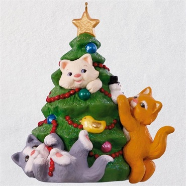 Mischievous Kittens 20th Anniversary Ornament