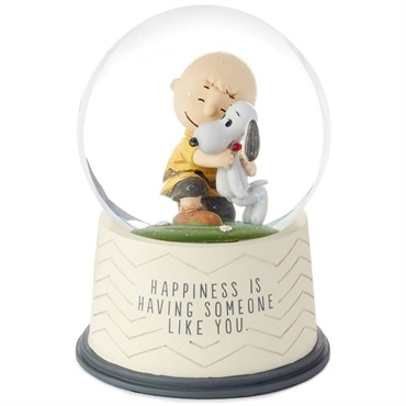 Peanuts(R) Happiness Is Someone Like You Snow Globe