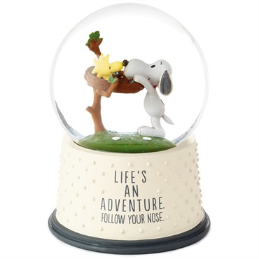 Peanuts(R) Life's an Adventure Snow Globe