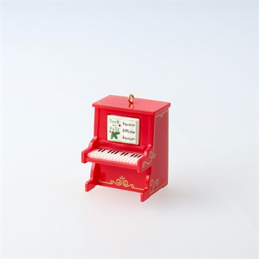 Mini Pint-Sized Piano Musical Ornament