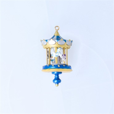 Mini Christmas Carousel Ornament