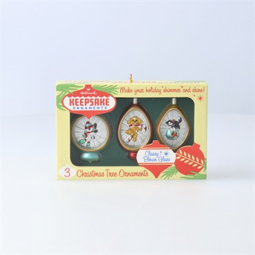 Nifty Fifties Keepsake Ornaments