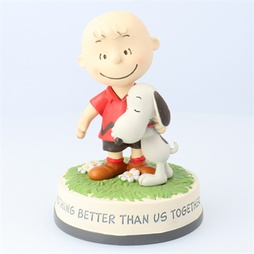 Peanuts(R) Charlie Brown and Snoopy Together Figurine