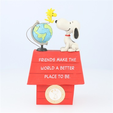 Peanuts(R) Snoopy and Woodstock Friends Make the World Better Figurine