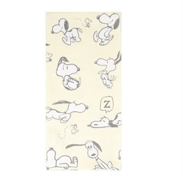 Peanuts(R) Snoopy Pattern Tea Towel