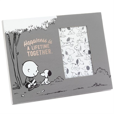 Peanuts(R) Happiness Together Picture Frame, 4x6