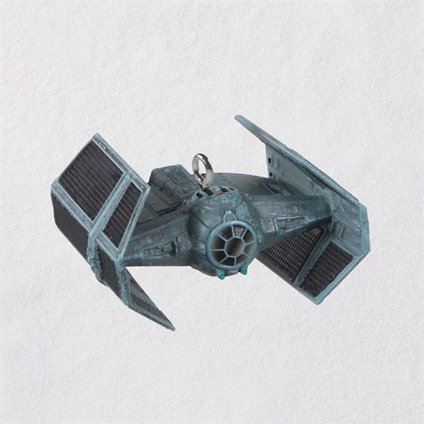 Mini Star Wars TM Darth Vader's TIE Fighter TM Ornament