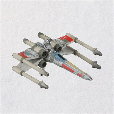 Mini Star Wars TM Luke Skywalker's X-Wing TM Ornament