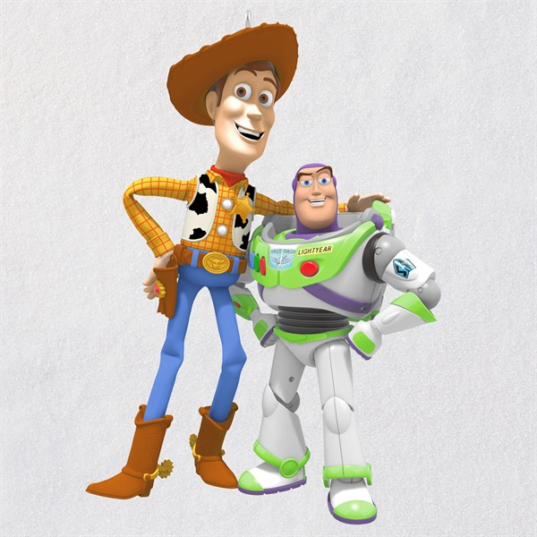 Disney/Pixar Toy Story Buzz Lightyear and Woody 25th Anniversary Ornament