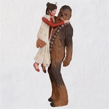 Star Wars: The Empire Strikes Back TM Princess Leia TM and Chewbacca TM Ornament