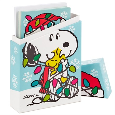 Peanuts(R) Merriest Christmas Ever Christmas Cards, Box of 16【クリスマスカードセット】