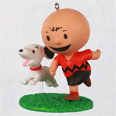 The Peanuts(R)Gang A Boy and His Dog Ornament