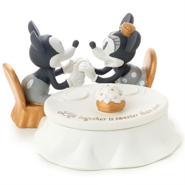 Disney Mickey and Minnie Sweeter Than Ever Trinket Box