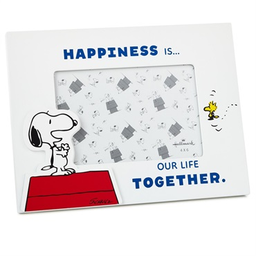 Peanuts(R) Snoopy and Woodstock Happiness Picture Frame, 4x6