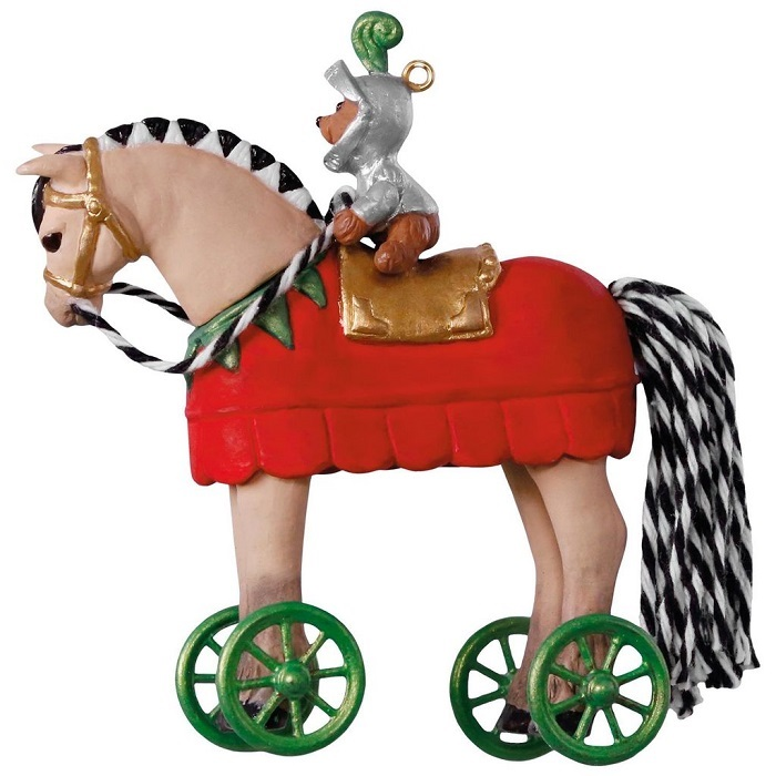 a pony for christmas knight in shining armor ornament ホールマーク